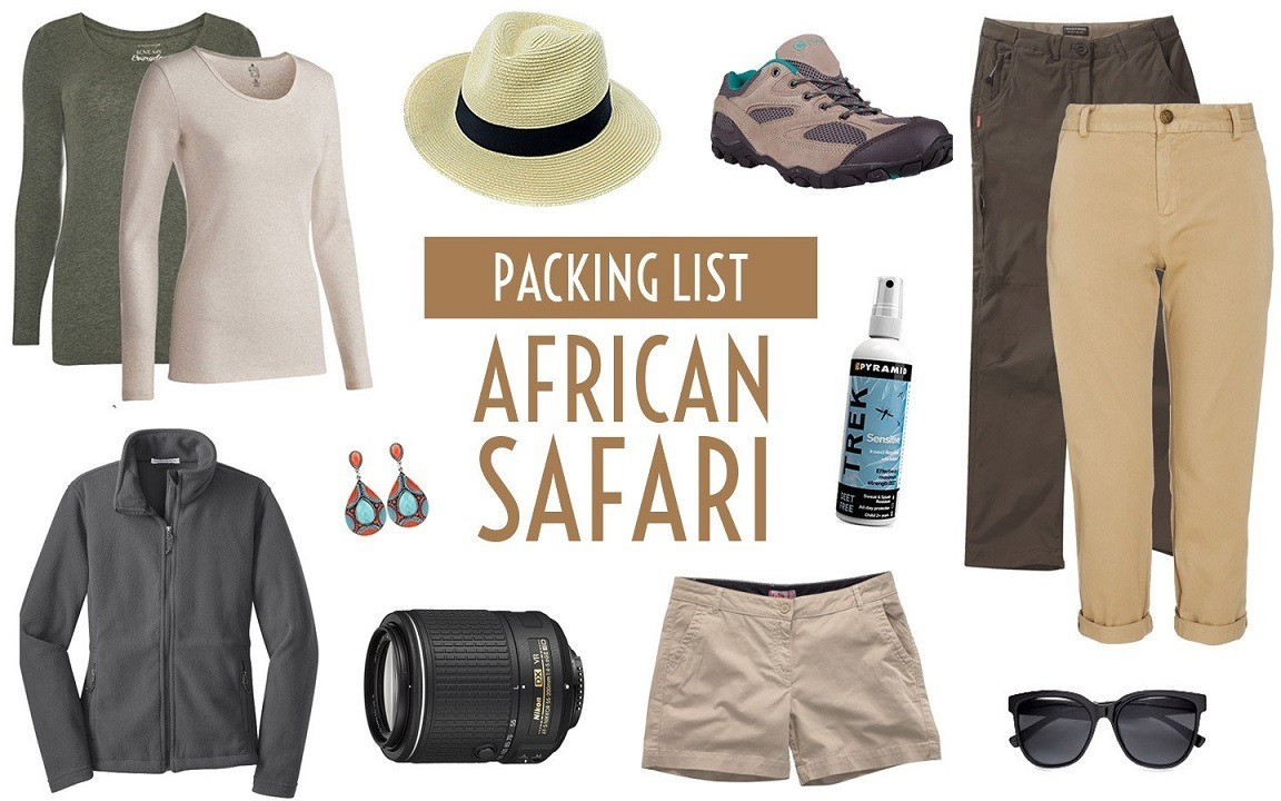 What To Pack For Your African Safari