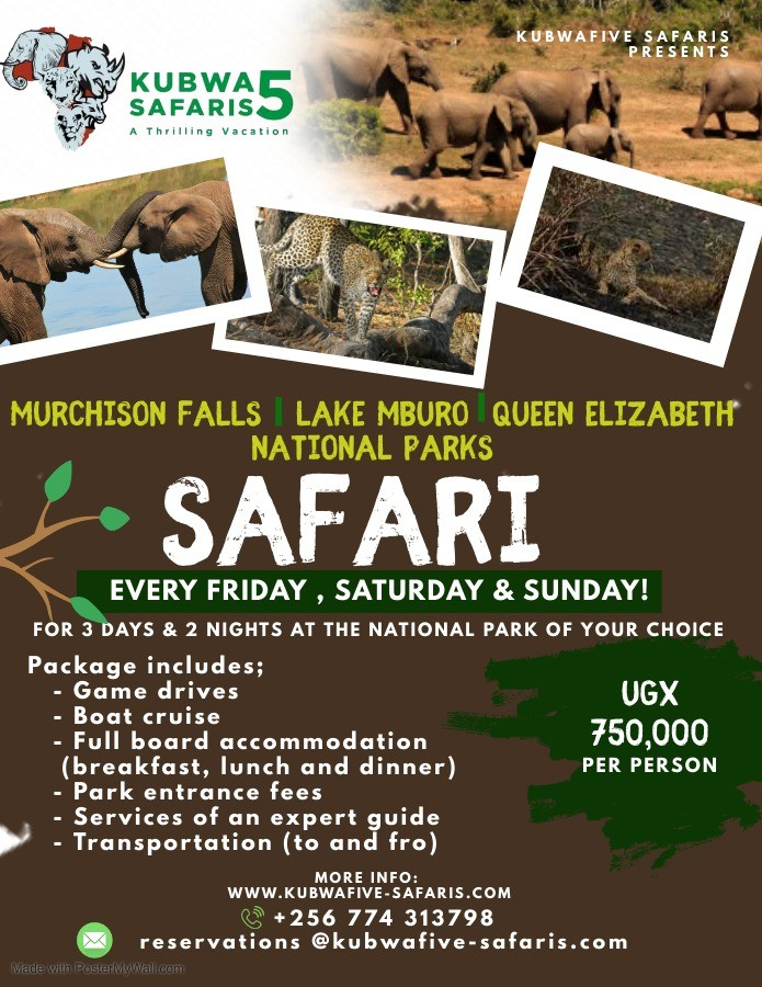 Independence Queen Elizabeth Vacation Murchison Falls Lake Mburo