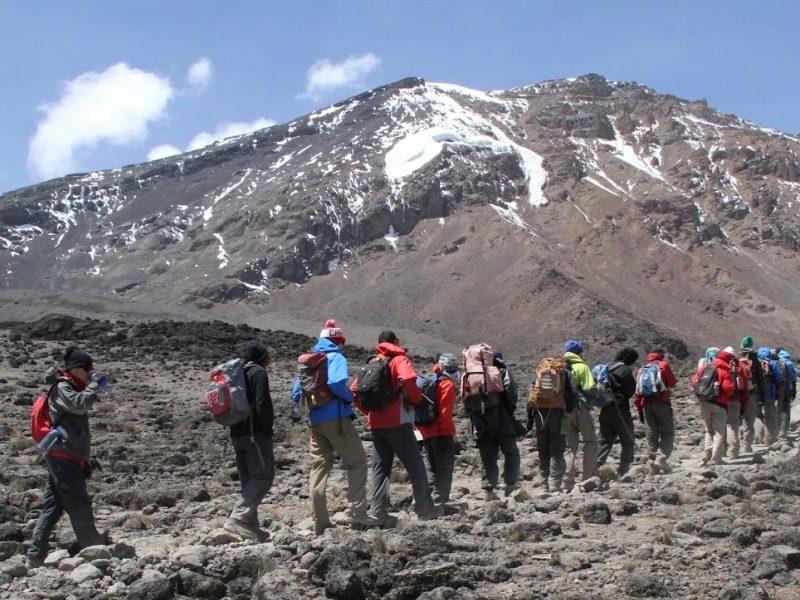 7 Day Mountain Kilimanjaro Hiking Marangu Route