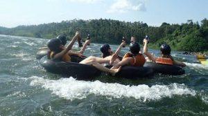 Tubing River Nile uganda